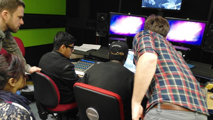 BFI/THAMES Sci-fi Sound Academy