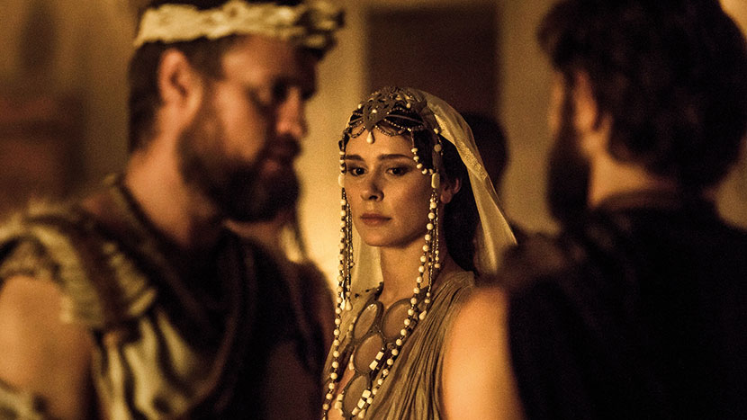 TV Preview: Troy: Fall of a City + Q&A with actors David Threlfall, Frances O'Connor and Jonas Armstrong, writer David Farr, exec producer Derek Wax and director Owen Harris