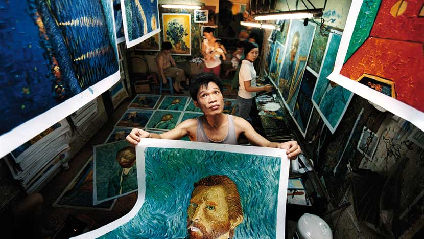 Image from China's Van Goghs