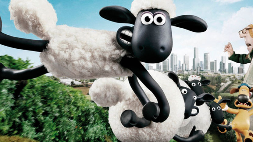 Image from Shaun The Sheep Movie