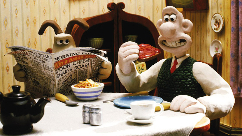 Wallace and Gromit: The Restored Shorts + Q&A with Aardman co-founder David Sproxton
