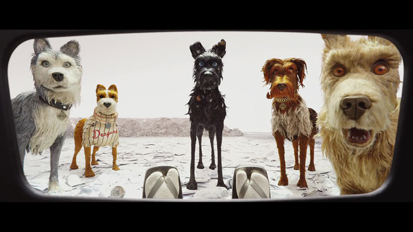 Image from Preview: Isle of Dogs