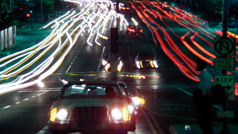 Image from Koyaanisqatsi + intro by Justin Johnson, Lead Programmer