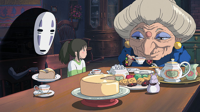 Image from Spirited Away