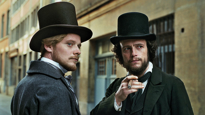 Image from The Young Karl Marx + discussion