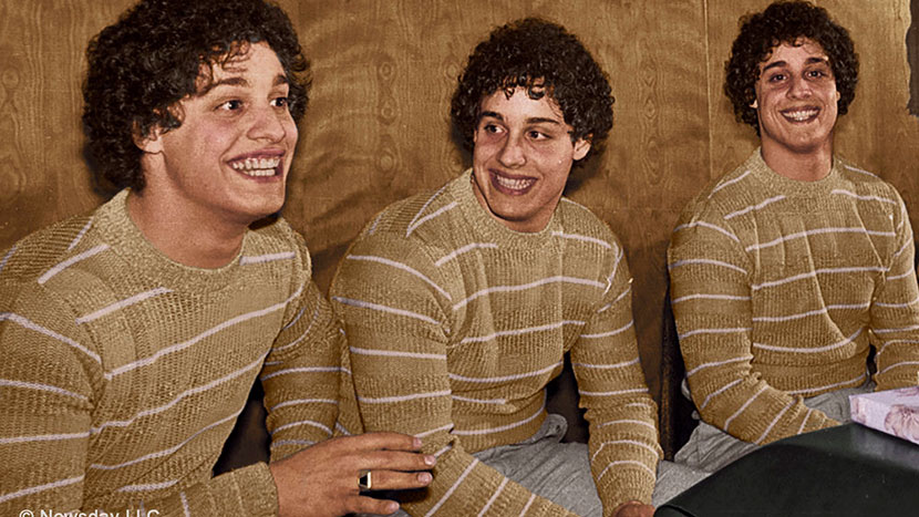 Image from Three Identical Strangers