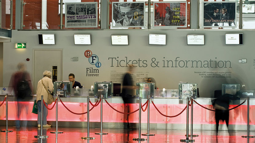 Behind the Scenes at the BFI