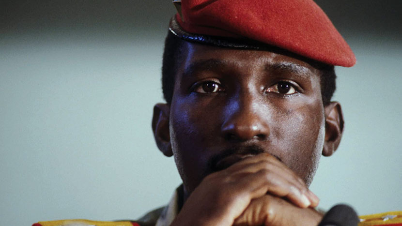 Image from Capitaine Thomas Sankara + Q&A with Dr Ama Biney, Political Historian