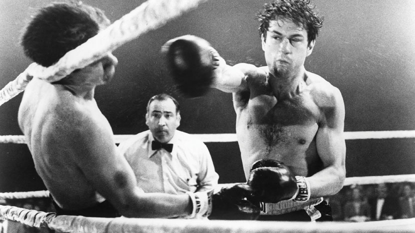 Image from Raging Bull + intro by Geoff Andrew, Programmer-at-large