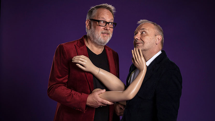 TV Preview: Vic & Bob's Big Night Out + Q&A with Vic Reeves and Bob Mortimer