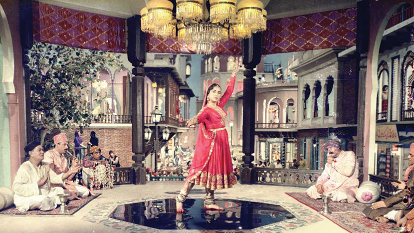 Image from Pakeezah + intro by Ashanti Omkar, BBC Asian Network broadcaster