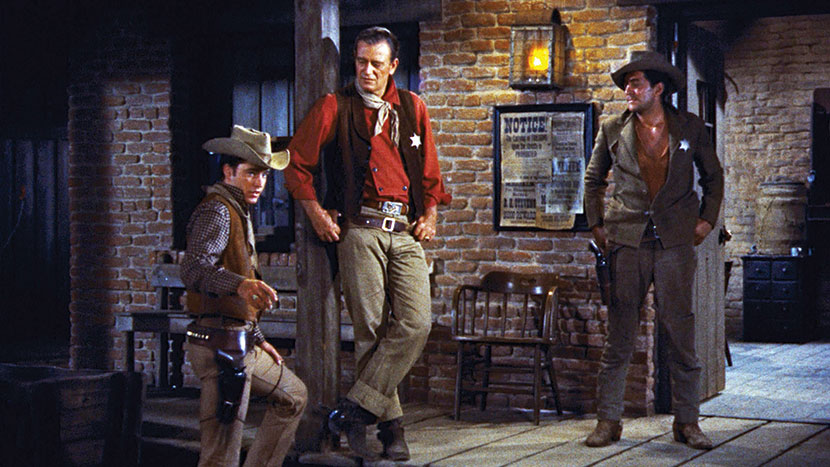 Image from Rio Bravo + intro by Geoff Andrew, Programmer-at-large
