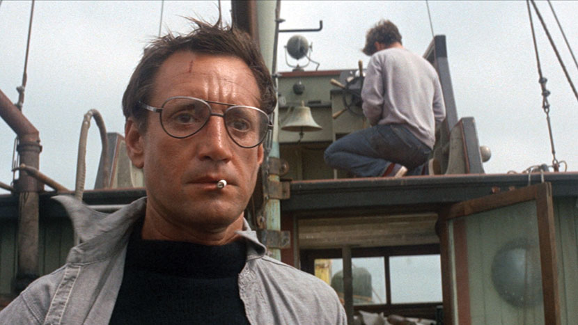 Image from Jaws + intro by Justin Johnson, BFI Lead Programmer