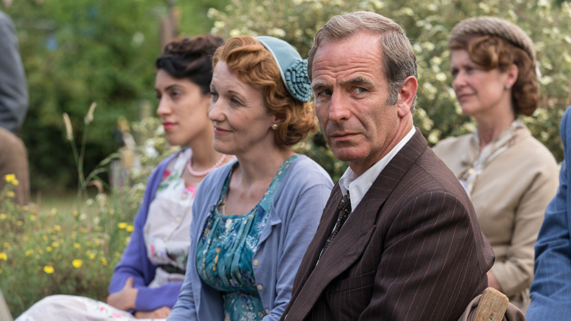 Grantchester: Discussion and Q&A with actors Robson Green and Kacey Ainsworth, writer Daisy Coulam and executive producer Emma Kingsman-Lloyd