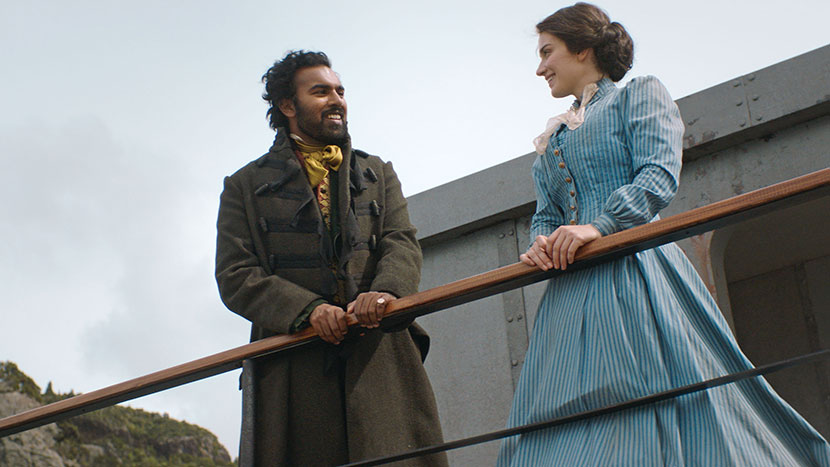 TV Preview: The Luminaries + Q&A with actors Eve Hewson and Himesh Patel, and producer Lisa Chatfield