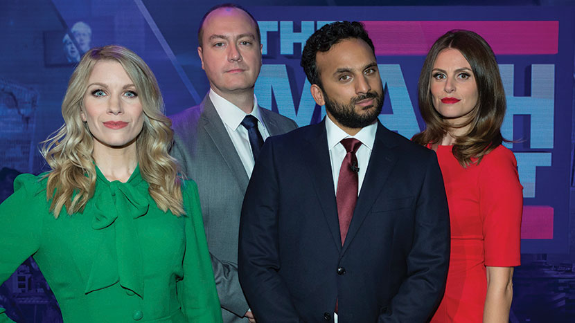 The Mash Report: Discussion and Q&A with Nish Kumar,  Michael Spicer, Rachel Parris and Desiree Burch
