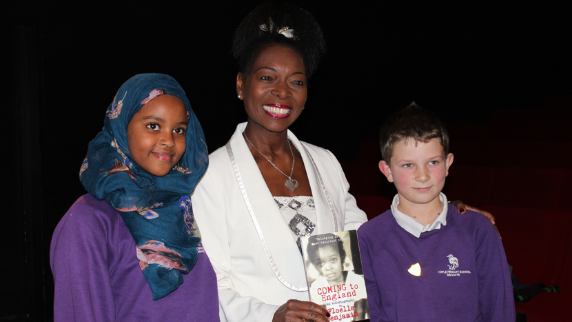 Coming to England with Floella Benjamin: an English and Anti-Bullying event for KS2
