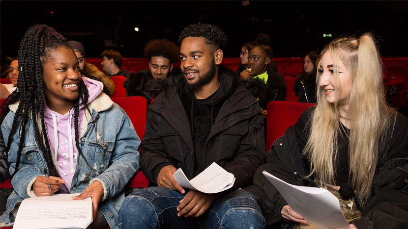 Students in NFT1, BFI Southbank