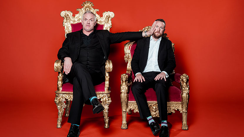 Image from Taskmaster with Greg Davies