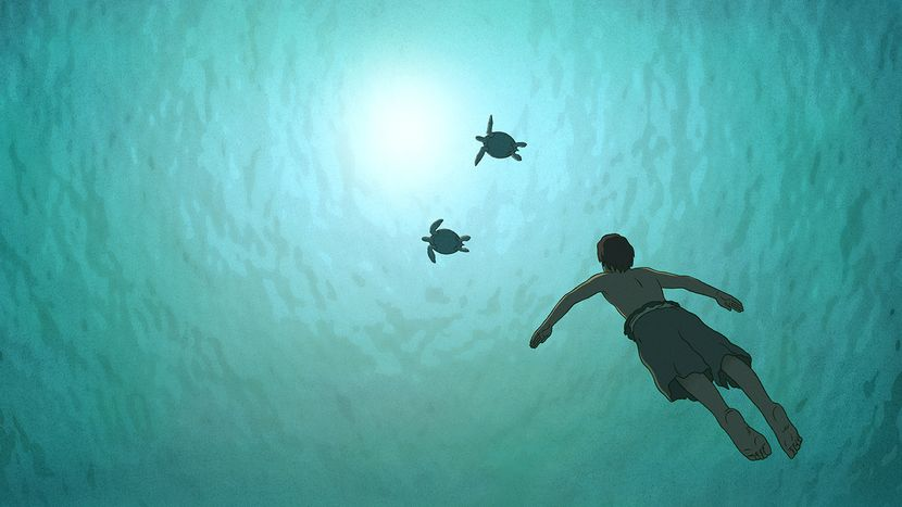 Image from The Red Turtle