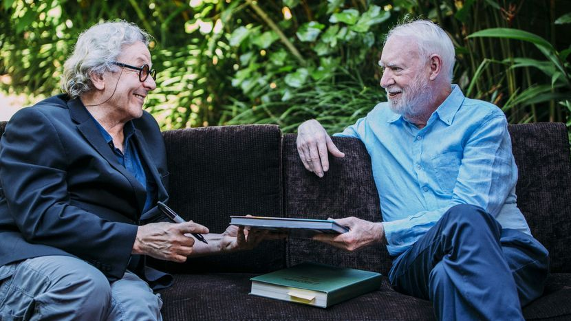 Image from David Stratton: A Cinematic Life
