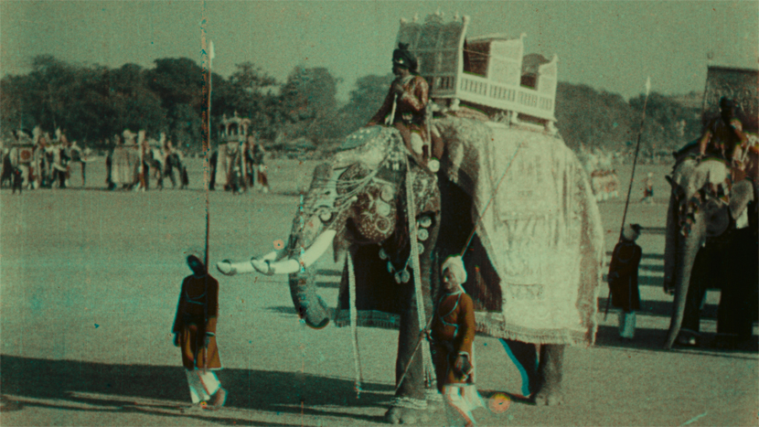 Image from The Ernest Lindgren Lecture: Kinemacolor with Luke McKernan