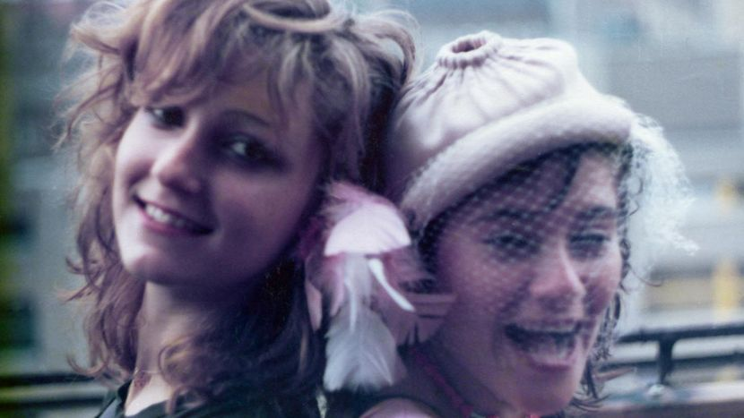Image from Here to be Heard: The Story of The Slits