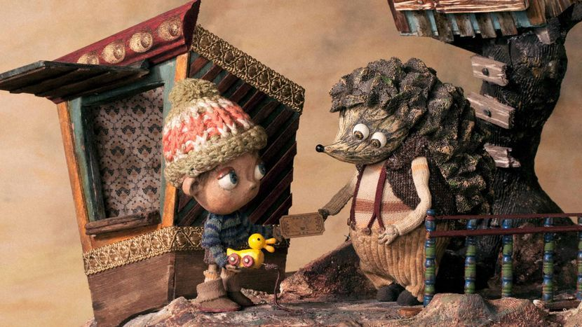 Image from The Kid and the Hedgehog