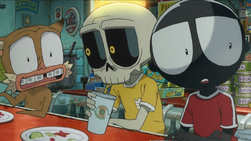 Image from Mutafukaz