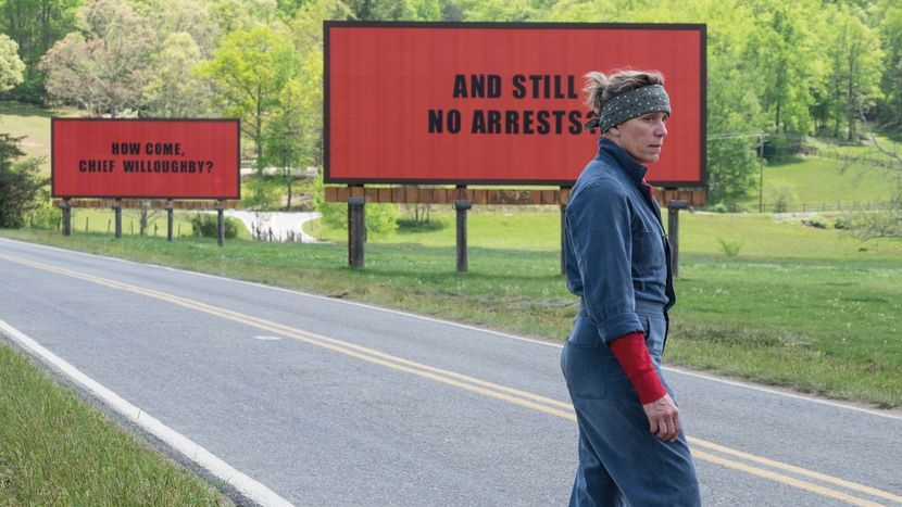 Image from Three Billboards Outside Ebbing, Missouri