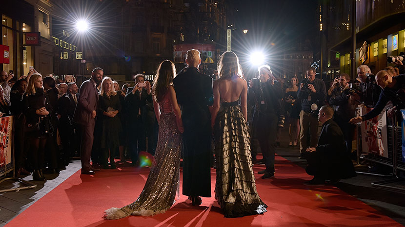 Image from Suspiria red carpet