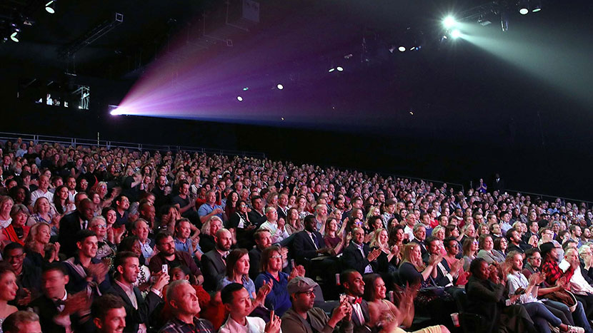Image from London Film Festival audience